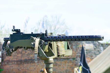mounted: Gemonteerde machinegeweer