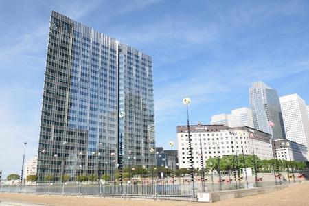 PARIS FRANCE 7 JUNE  2015: La Defense Paris Editorial