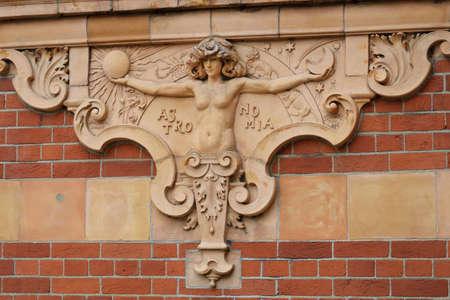 greenwich: Detail of wall on Greenwich Royal observatory london