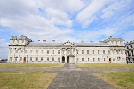 greenwich: Front of Greenwich Naval College