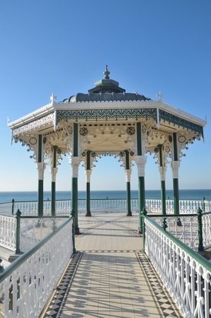 bandstand: Seaside bandstand from front
