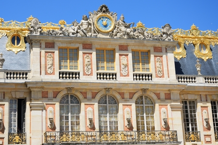 frontage: Frontage of grand European palace