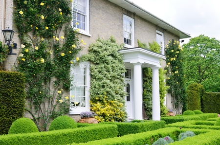 english house: Traditional victorian english country house