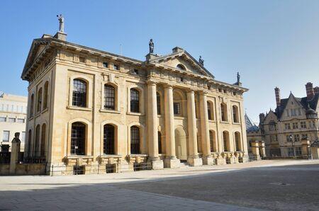 oxford: Claredon Building Oxford Uk