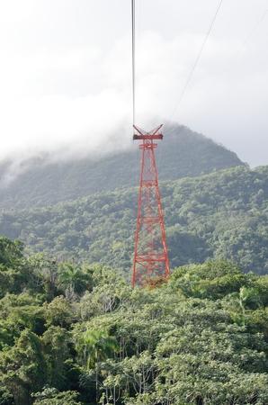 puerto: Cable car mechanism in Jungle Puerto Plata