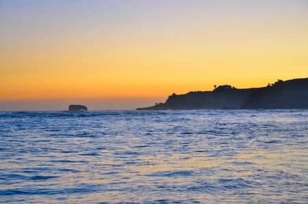 atlantic: Sunset over Caribbean atlantic