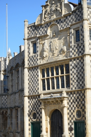 guildhall: Ancient english guildhall