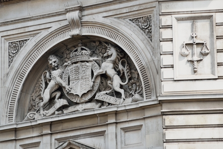 magistrates: Detail of Bow Street Magistrates Court