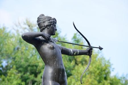 diana: Statue of Diana the Huntress