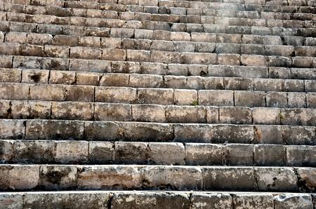 Ancient mayan stone staircase chichen Itza