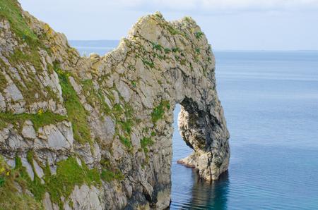 durdle door: Durdle Door on Dorset Coast England  UK