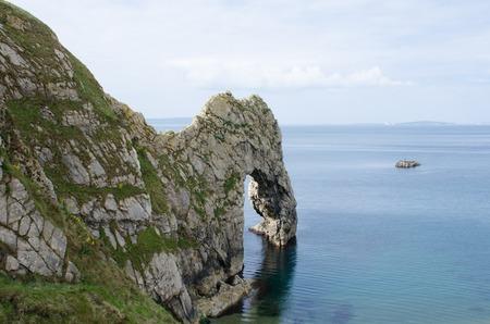 durdle door: Durdle door on Jurassic coast Dorset