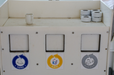 Labelled Waste Containers