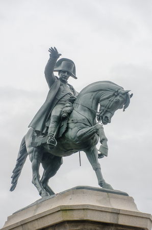 Statue of Napeleon on Horseback