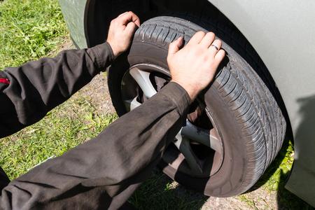 tread: Checking tread