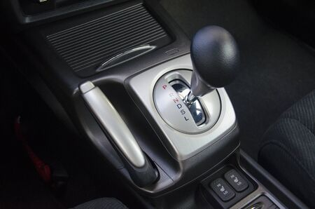 gearshift: Colored automatic gearshift stick