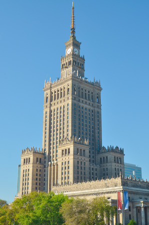 Palace of Culture and Science, Warsaw, Poland. The highest building in Poland