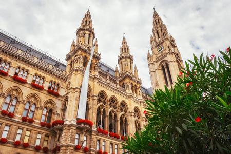 Vienna Town Hall, Wiener Rathaus, Austria