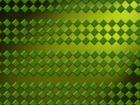 fluent: geometric green background with rhombuses