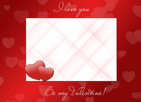 I love you, be my valentine photo