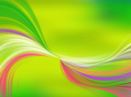 abstract background with color waves  photo