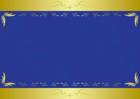 bright borders: elegant blue card with texture