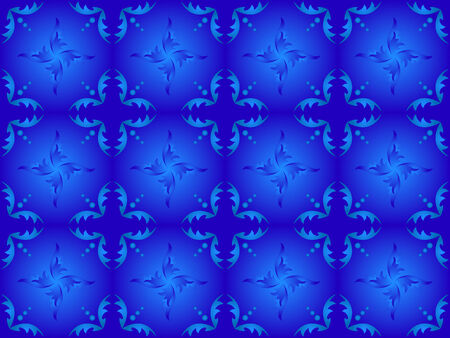 seamless blue texture with gradients Vector