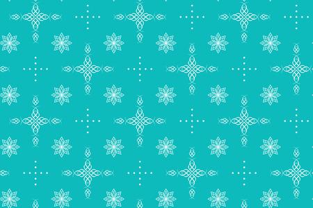 celadon: aquamarine seamless texture with crosses