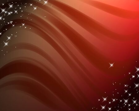 abstract dark red background with wavy lines and gradient photo