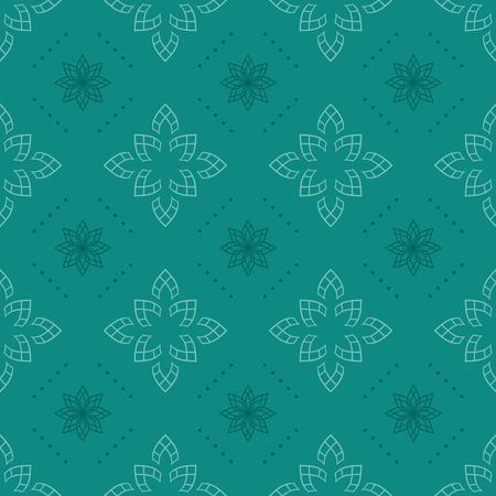 celadon: vector dark aquamarine seamless texture