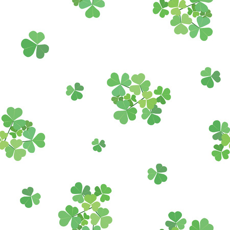 seamless texture with clover Stock Vector - 8638754