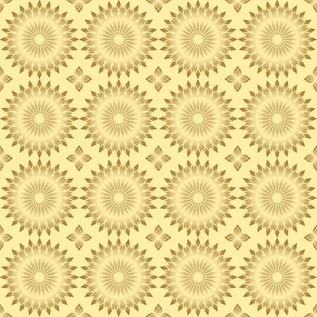 light pattern with round elements Vector