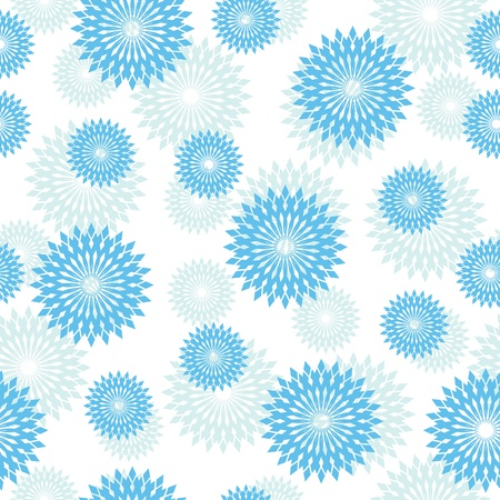 geometrical: vector light blue texture with round elements Illustration