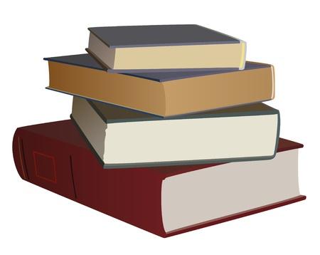 Vector - impostare dei libri di colore