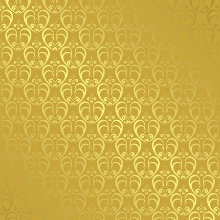 golden geometric pattern with gradient Vector
