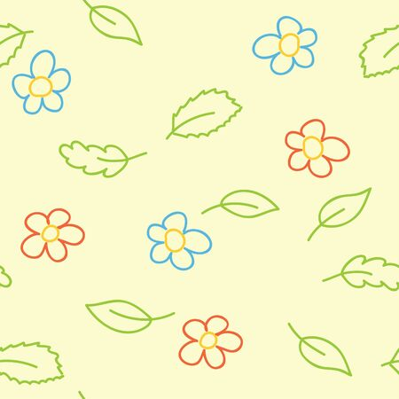 babyish: seamless pattern of childish  picture