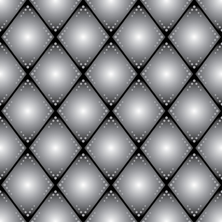 rhombus seamless pattern for background Vector