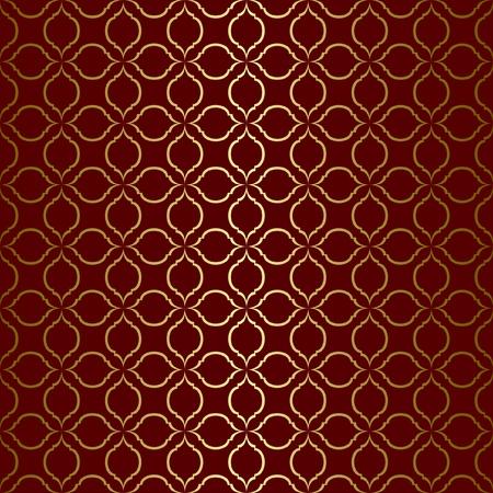 vector dark brown seamless pattern Vector