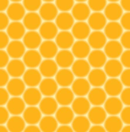 seamless orange pattern - honeycombs Stock Vector - 12268850