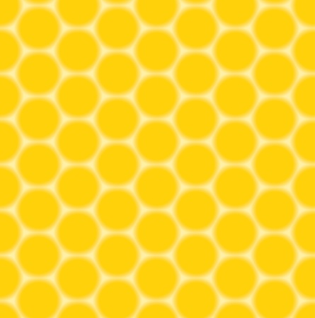 yellow seamless pattern - honeycombs Stock Vector - 13005686