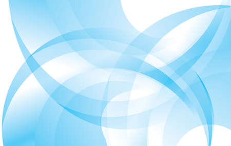 curved line: blue and white abstract vector background Illustration