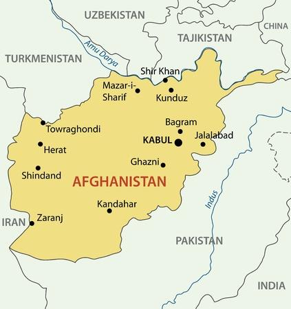 afghanistan: Islamic Republic of Afghanistan map
