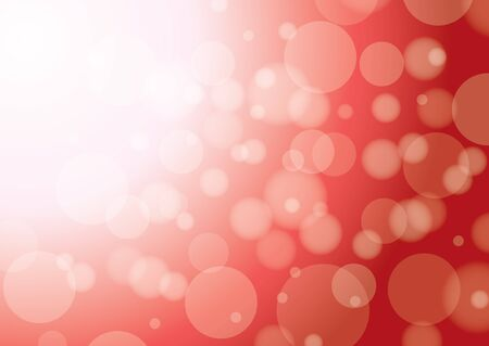 fizz: abstract red backgrounds with bokeh