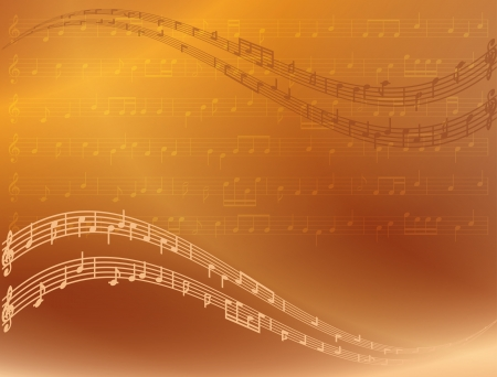 musical score: abstract bright music background