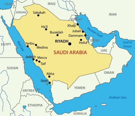 the gulf: Kingdom of Saudi Arabia