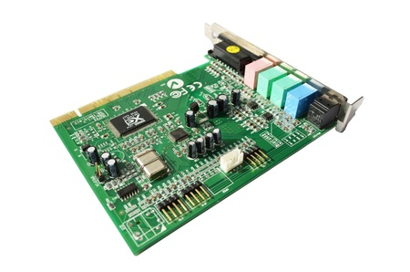 computer sound blaster - audio card photo