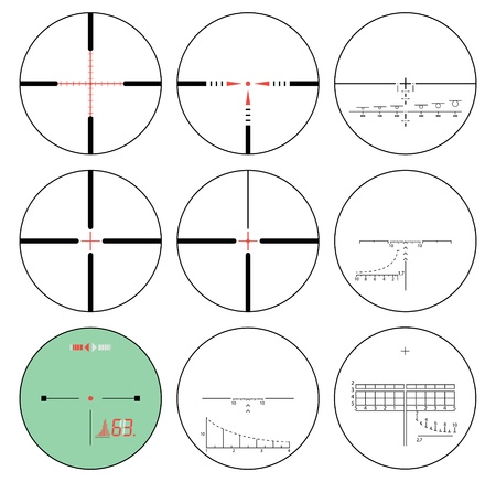 gun sight: reticles