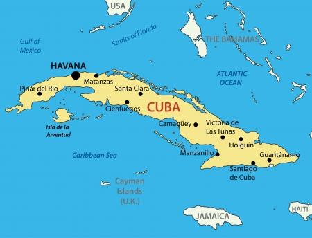 キューバ共和国  イラスト・ベクター素材