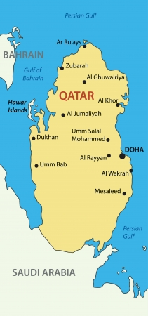 western town: State of Qatar