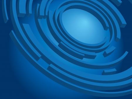 radial: dark blue background - wallpaper